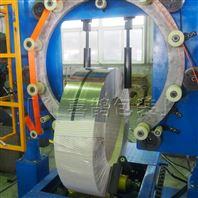 工程车轮胎缠绕膜包装机