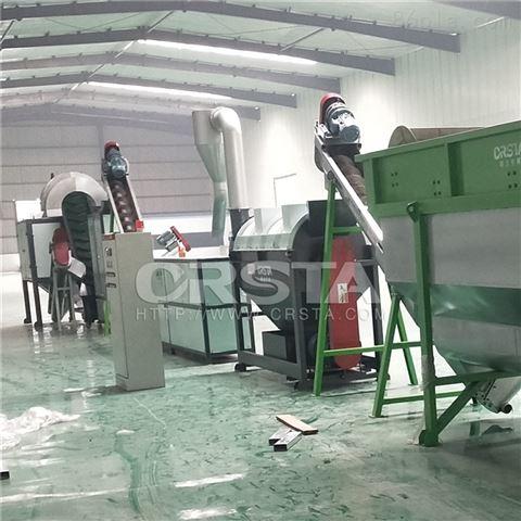 HW49大蓝桶回收处置破碎清洗生产线