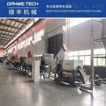GW-PE-WL1000耐酸碱化工桶处置线 集装桶清洗不干胶机器