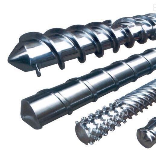 金丰螺杆-排气型工业螺杆机筒