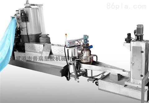 整膜牵引塑料薄膜造粒机,塑料造粒机,造粒机回收成卷薄膜