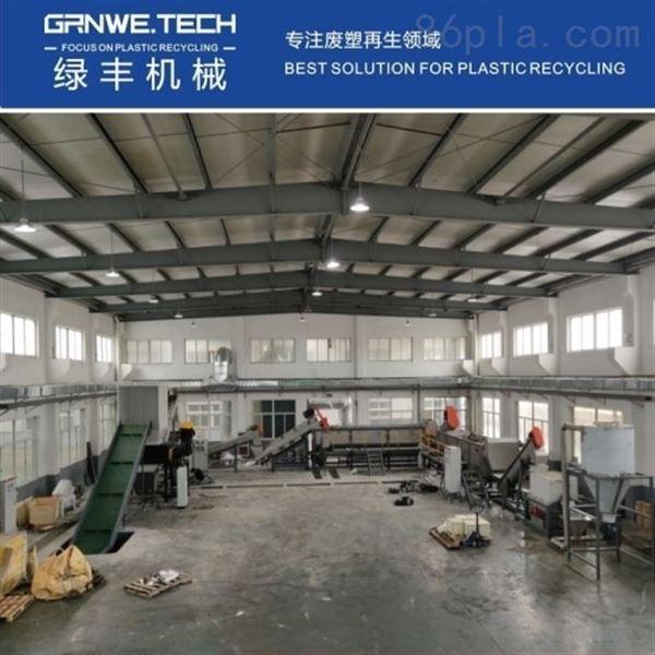 大兰桶清洗不干胶机器HDPE塑料吨桶生产线