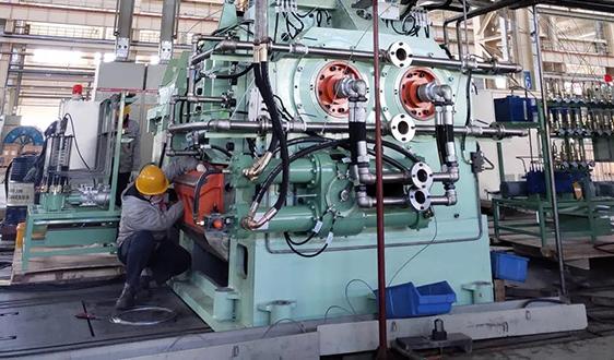 大橡塑出口巴基斯坦多台产品顺利完成试车正式发运