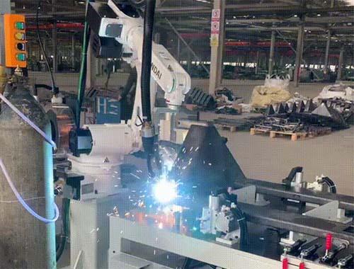 工程機械行業 | HA006B搬運車車架焊接項目解決方案