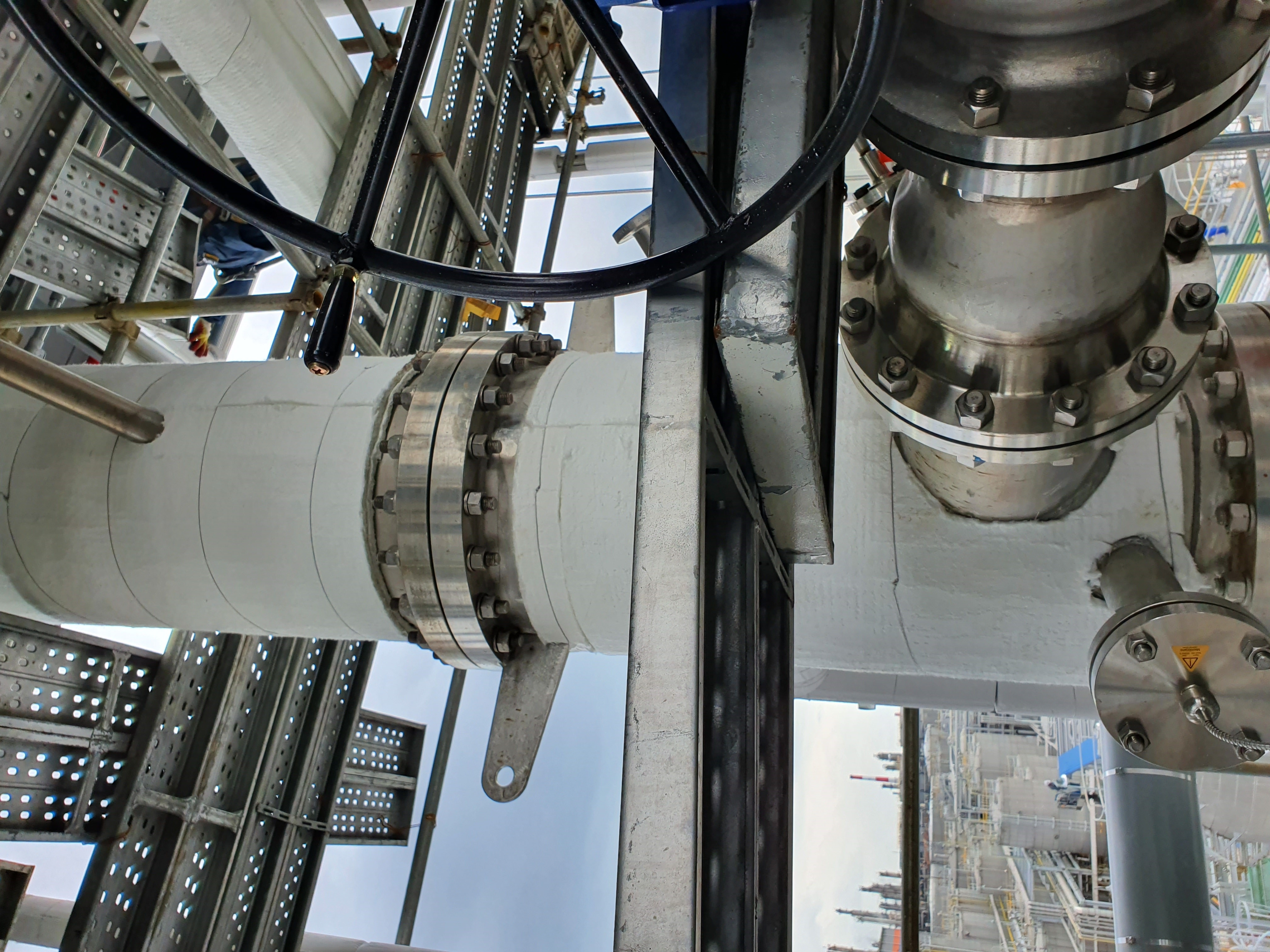 Caption - New generation of insulating material helps reduce 'corrosion under insulation' of equipment.jpg